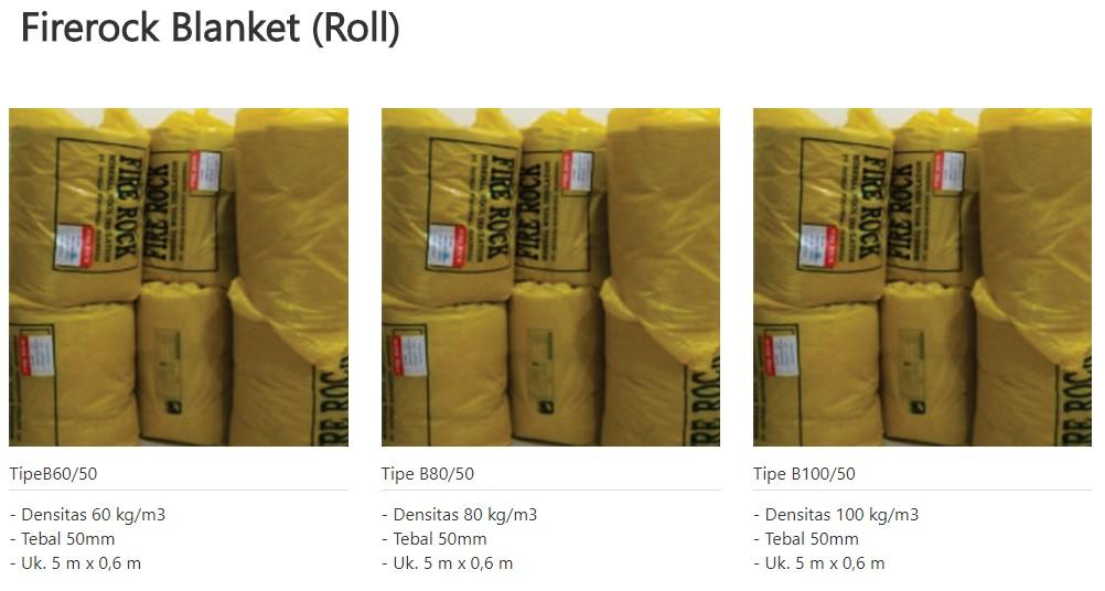 fire rock blanket/roll 0853-3616-4074