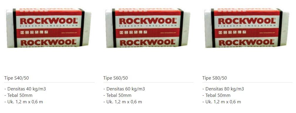 Rockwool board slab lembaran 0853-3616-4074