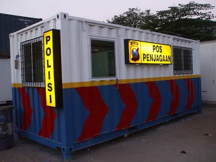 Pusat Beli Modifikasi Kontainer Office Cafe Murah