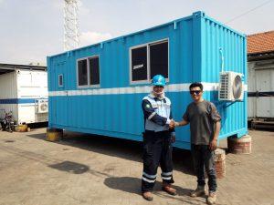 Pusat Pembuatan Modifikasi Kontainer Office Jual Murah