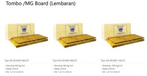 Tombo MG Board Lembaran 0853-3616-4074