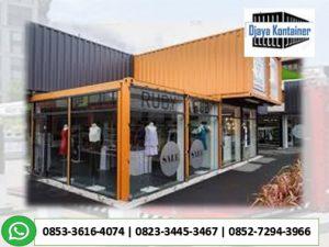 0853-36164074 Gudang Warehouse Container Kosongan Minimart Restoran Container Toko Gerai Barbershop Container