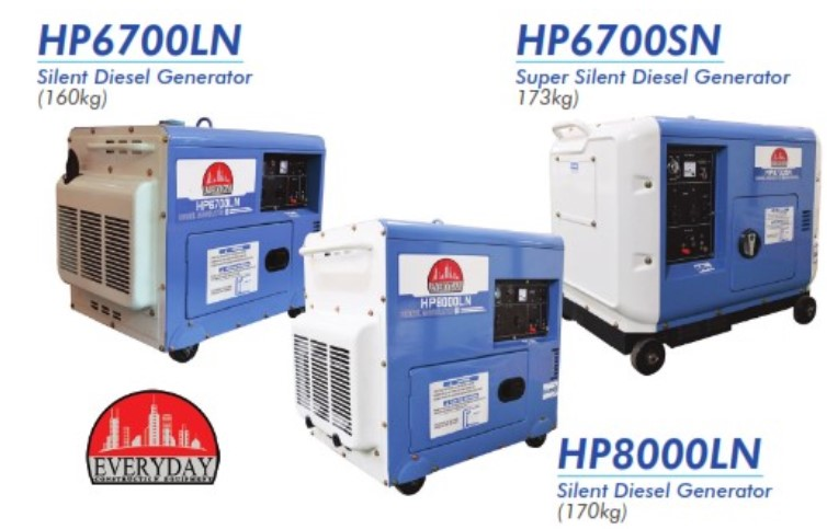 Diesel generator, 0853-3616-4074