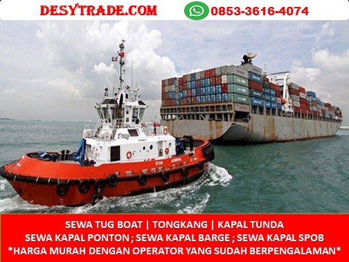 Kapal Tunda Sewa Tongkang Ponton Barge SPOB Tanker Mini