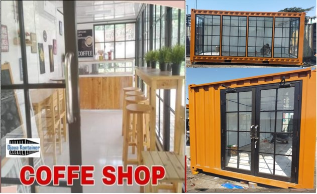 0853-36164074 Container Cafe Restoran Coffe Shop MURAH