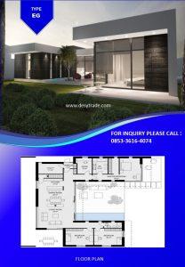 085336164074 Perumahan Rumah Kontainer Type EG
