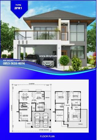 085336164074 Perumahan Rumah Kontainer Type 2FR1