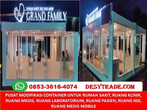 Pusat Pembuatan Rumah Sakit R. Medis Container