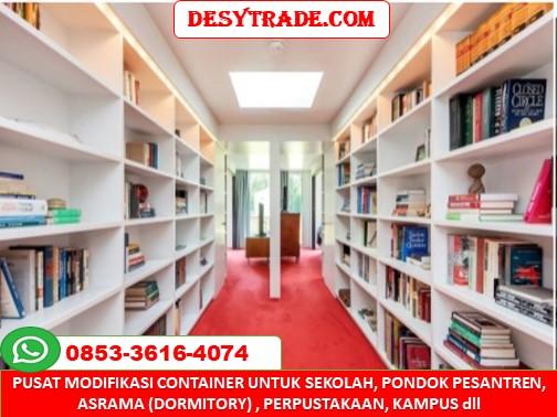 Perpustakaan Sekolah Container 0853-36164074