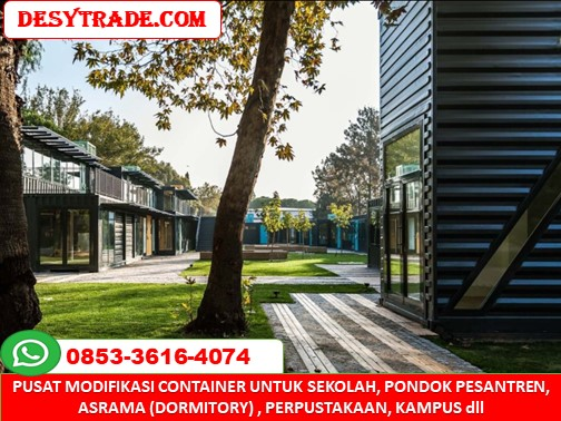 Sekolah Pondok Pesantren Asrama Container 0853-36164074