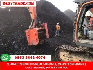 Mobile Crusher Batubara, Mesin Penghancur Bucket Crusher MURAH 085336164074
