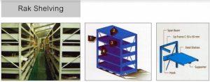 Rak Shelving, Medium Duty Rack, Mezzanine Rack, Multi-tier Rack 0853-3616-4074