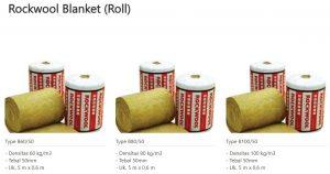 Rockwool Blanket Roll 0853-3616-4074