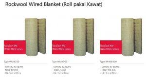 Rockwool Wired Blanket (Roll pakai kawat) 0853-3616-4074