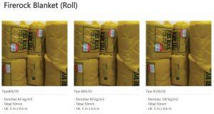 Firerock Blanket (Roll) 0853-3616-4074