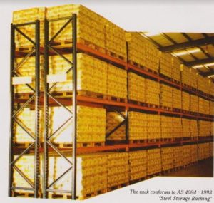 Pusat Rak Gudang Heavy Duty Selective Pallet Rack