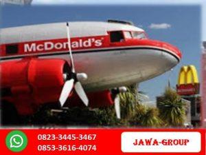 Pesawat Terbang Bekas Murah Untuk Restoran Rumah