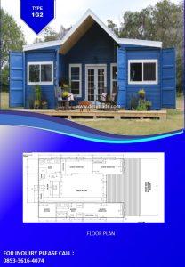 085336164074 Perumahan Rumah Kontainer Type 1EG2