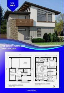 085336164074 Perumahan Rumah Kontainer Type 2FR3