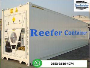 Pusat Jual Reefer Container Kontainer Pendingin Cold Storage