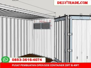 Container Open Side 20ft 40ft MURAH 085336164074