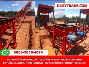 Mobile Crusher Batubara Mesin Penghancur Crusher MURAH